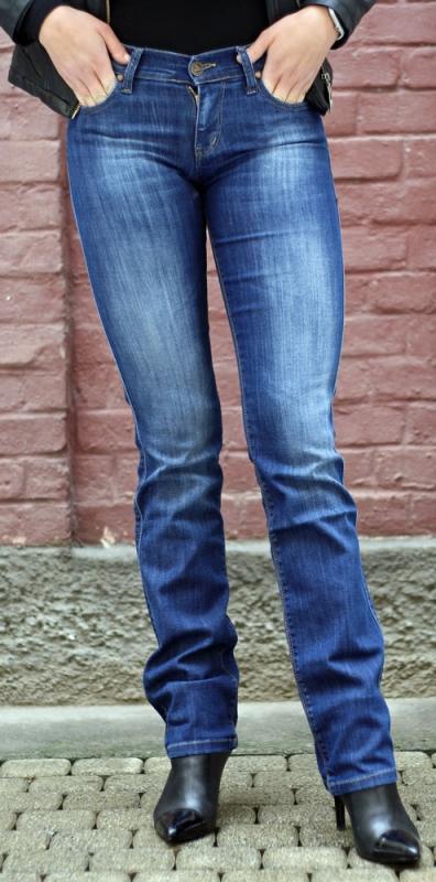 Dámské džíny - Dámské džíny Watford mili