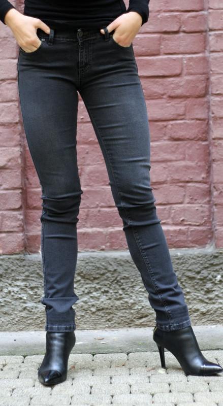 Dámské džíny - Dámské džíny watford černo-šedé