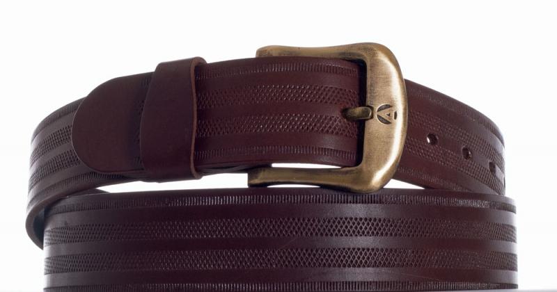 Kožené opasky - Pásek kožený 2052  proužek