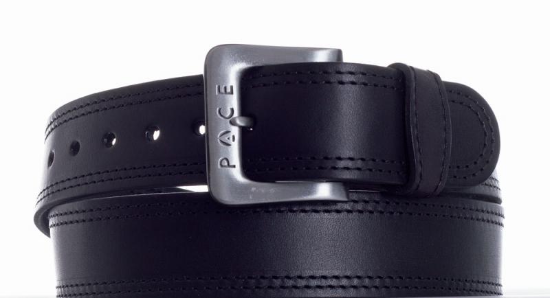 Kožené opasky - Černý pásek Pace jeans 2005 2ob.š.