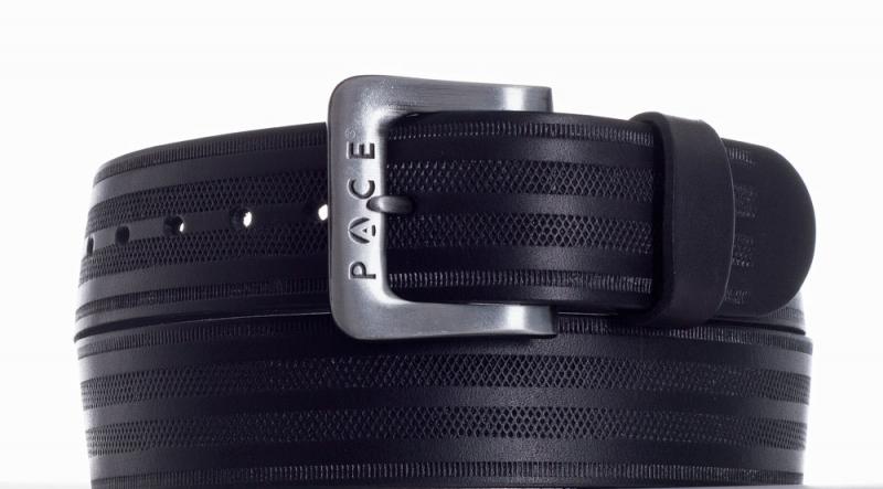 Kožené opasky - Černý pásek Pace jeans 2005 pr.