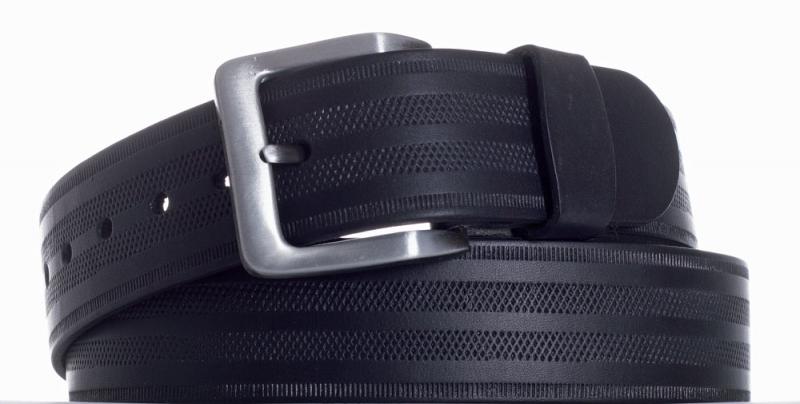 Kožené opasky - Opasek kožený černý 18 pr.