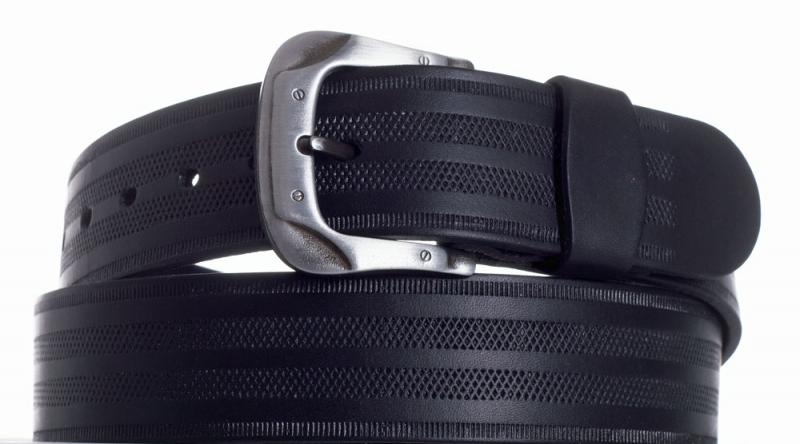 Kožené opasky - Opasek kožený černý 1042 pr.