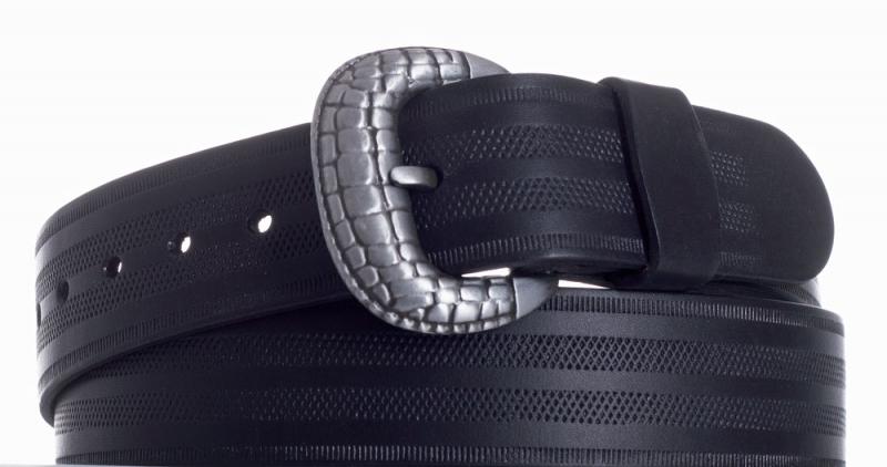 Kožené opasky - Opasek kožený černý 1052 pr.