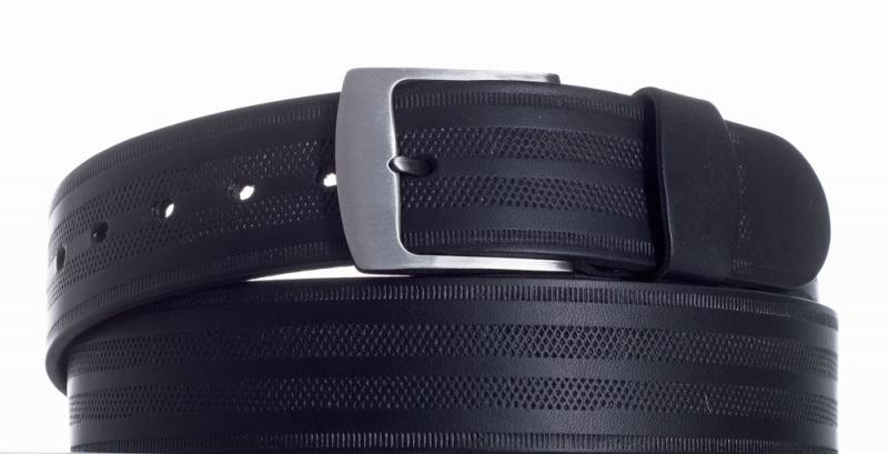 Kožené opasky - Opasek kožený černý 1074 pr.