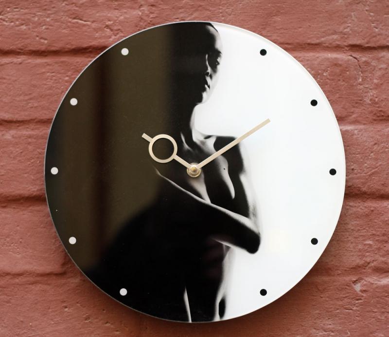 Nástěnné designové hodiny - Nástěnné hodiny JIN JANG pr.30