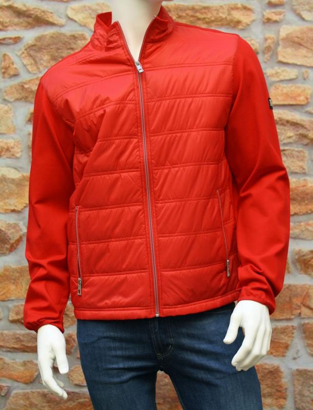 Pánská móda - Pánská jarní bunda červená