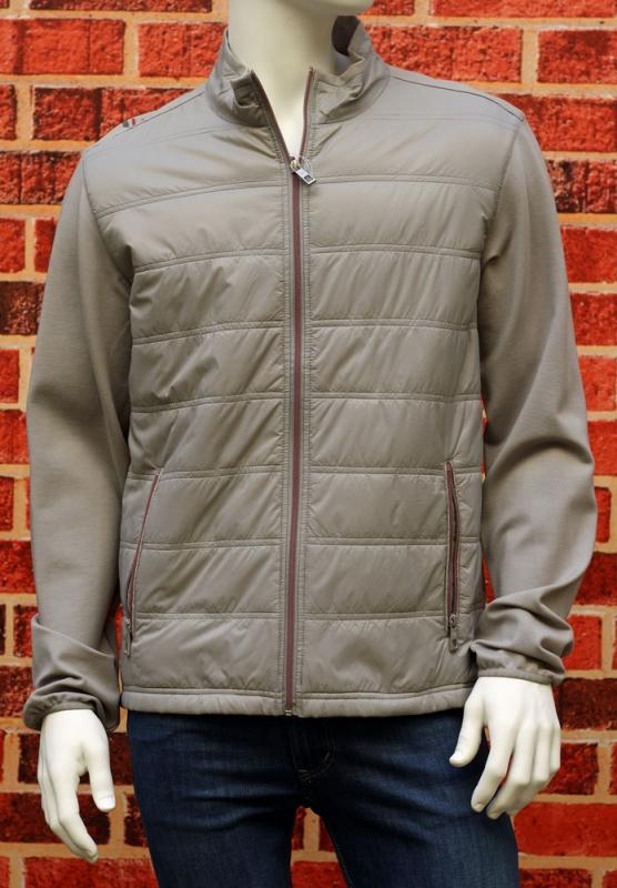 Pánská móda - Pánská jarní bunda šedá