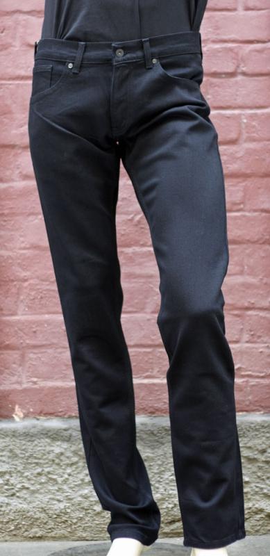 Pánské rifle - Pánské černé džíny