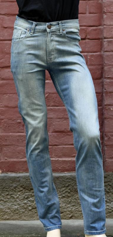 Pánské rifle - Pánské světlé elastické džíny