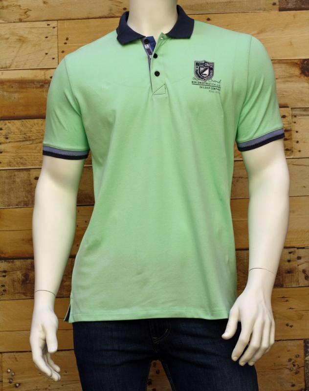 Pánská móda - Pánské polo 587 zelené