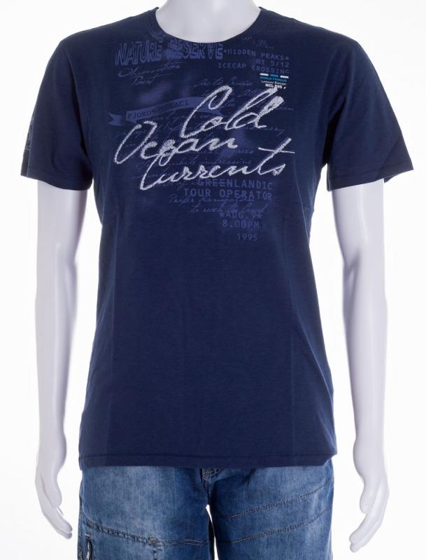 Pánská móda - Pánské triko Jossi 141 modré