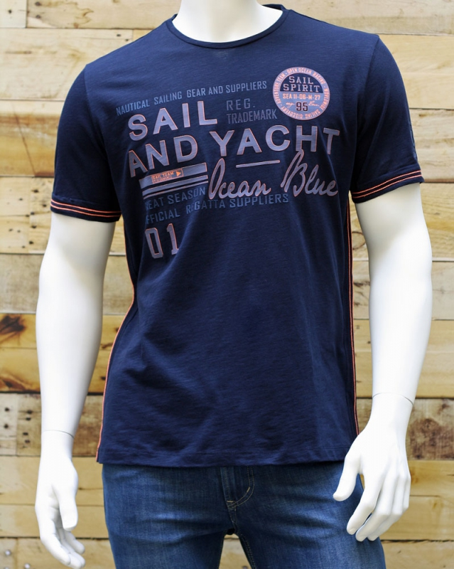 Pánská móda - Pánské triko Jossi 272 modré