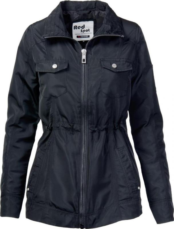 Dámská móda - Dámská jarní bunda J172 černá