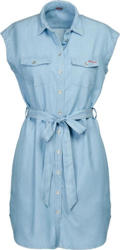 Dámská móda - Dámské šaty DR1 světle modré