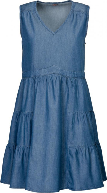 Dámská móda - Dámské šaty DR2 středně modré