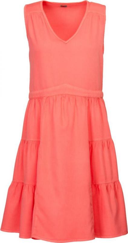 Dámská móda - Dámské šaty DR2 korálově červené