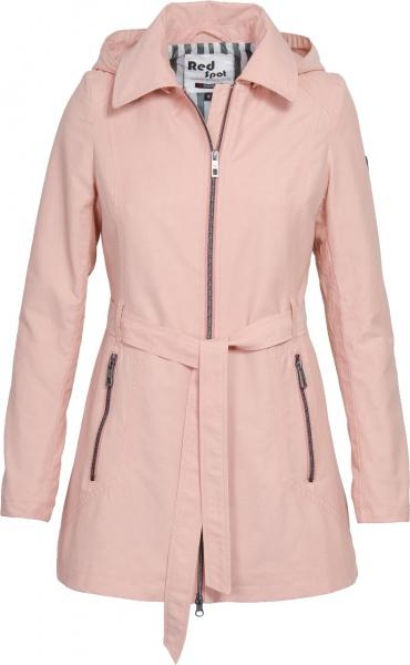 Dámská móda - Dámská jarní bunda J194 růžová