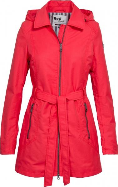 Dámská móda - Dámská jarní bunda J194 coral red