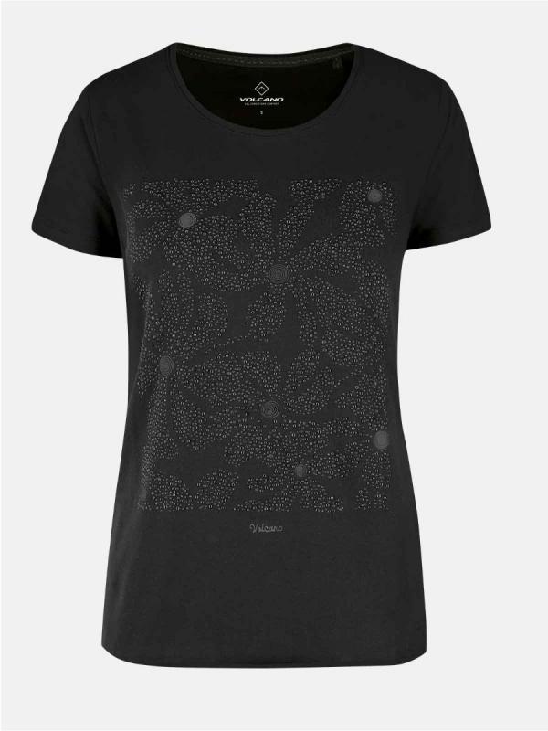 Dámská móda - Dámské triko Dotters černé