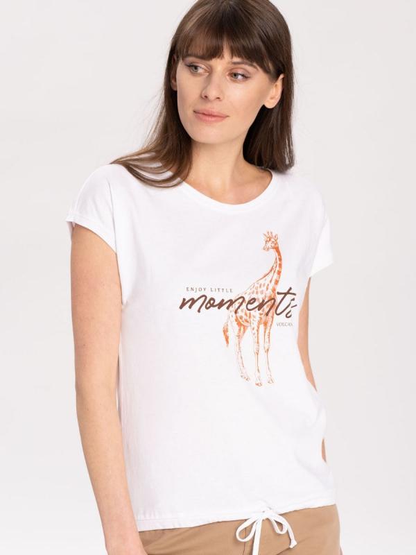Dámská móda - Dámské tričko Žirafa